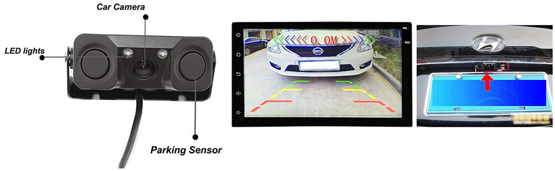 دوربین خودرو دو سنسور