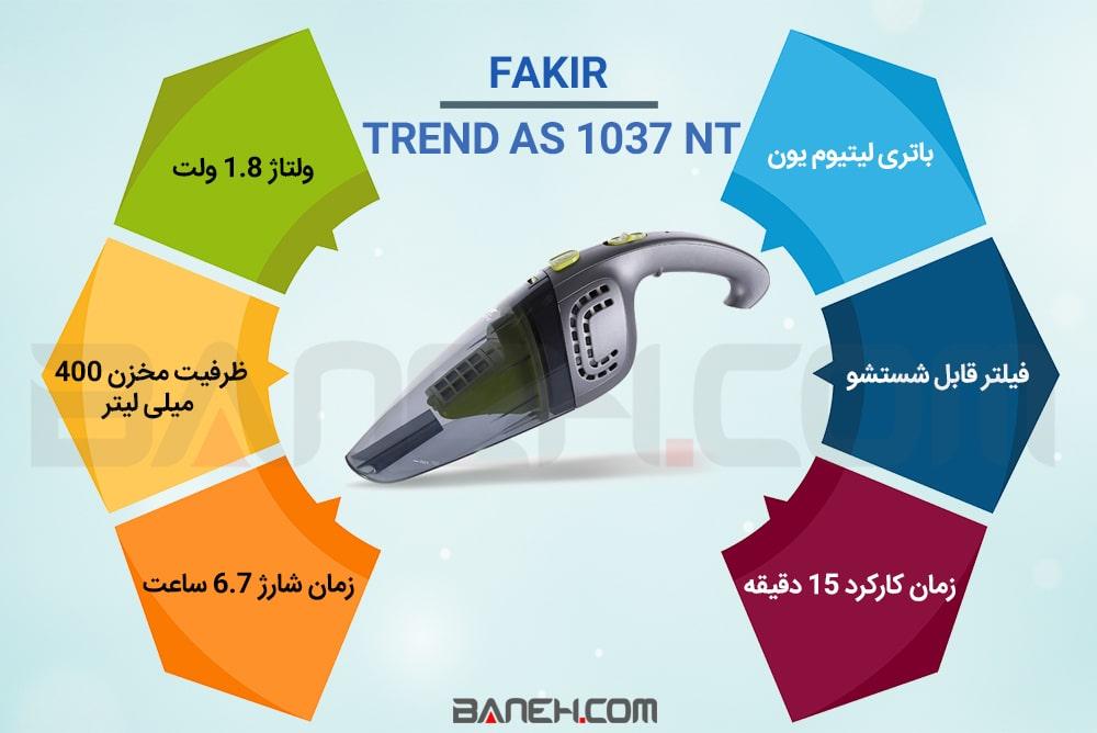 اینفوگرافی جاروشارژی فکر Trend AS 1037 NT